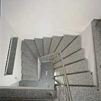 Halbgewendelte Treppen kohmann natursteinbau gmbh